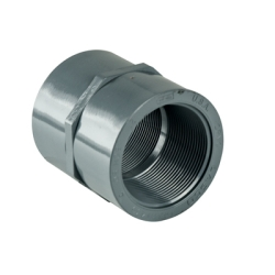 "1/4"" Schedule 80 CPVC Straight Coupling"