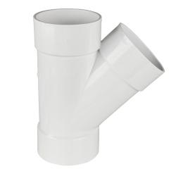 White PVC Wye