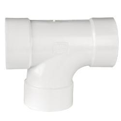 White PVC San Tee