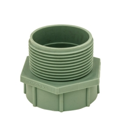 Labline® Polypropylene Threaded Adapter MPT x FST