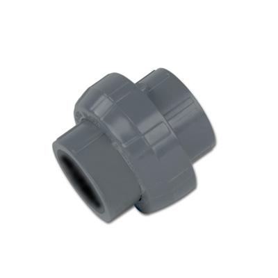 "4"" Schedule 80 Gray PVC Socket Union"