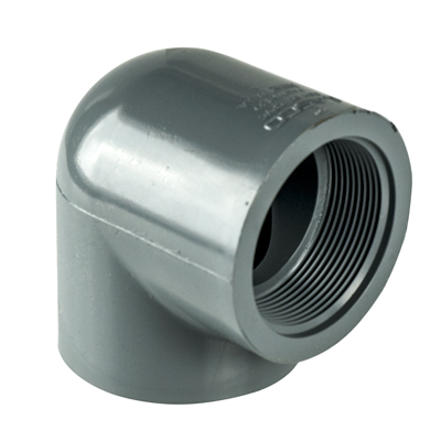 "1-1/4"" 90° CPVC Threaded Pipe Elbow"