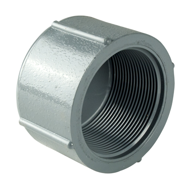 "1-1/2"" CPVC Threaded Cap"