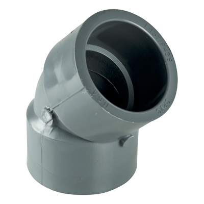"2-1/2"" 45° CPVC Socket Elbow"