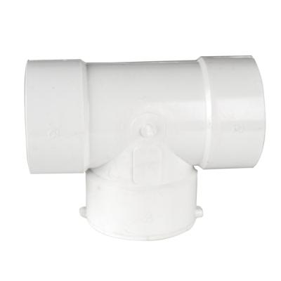 White PVC Tee