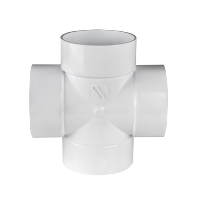 White PVC Cross