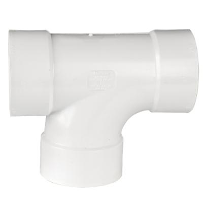 """3"""" White PVC San Tee"""