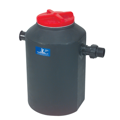 Undercounter Neutralization and Dilution Tank