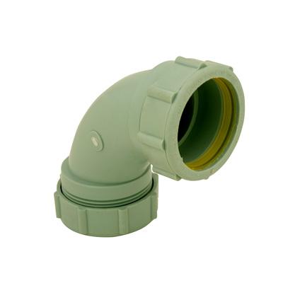 Labline® Polypropylene 1/4 Bend