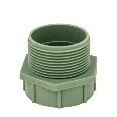 Labline® Polypropylene Threaded Adapter MPT x FST