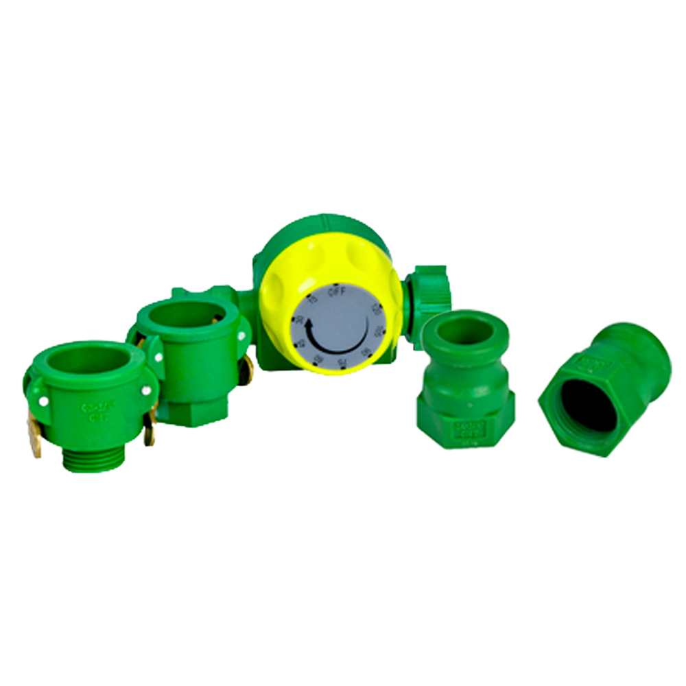 """3/4"""" FGHT x 3/4"""" Male Adapter With On-Off Valve"""
