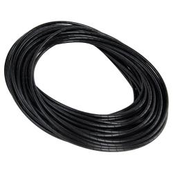 "1/4"" OD x 0.040"" Wall Black Spiral Wrap with 3/16"" to 2"" Bundle Range"