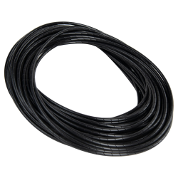 "1"" OD x 0.095"" Wall Black Spiral Wrap with 1"" to 7"" Bundle Range"