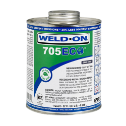 Quart Clear Medium Body IPS ® Weld On ® 705 ECO™ Ultra Low VOC