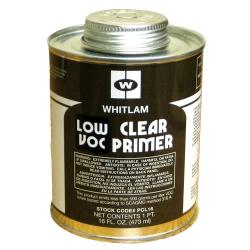 Pint Low VOC Clear Plastic Pipe Primer