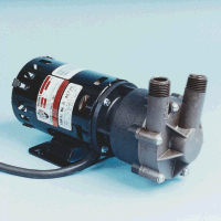 MDX-MT3 March ® Magnetic Drive Kynar ® Pump with 1/25 HP, 230v Air Cooled Motor