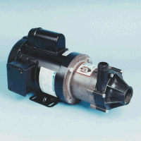TE-7R-MD March® Magnetic Drive Polypropylene/Ryton® Pump with 1 HP, 230/460v, 1 TEFC Motor