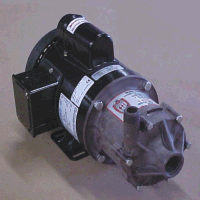 DP-6T-MD March® Magnetic Drive Polypropylene/Ryton® Pump with 1/2 HP, 115/230v, 1 Phase Drip Proof Motor