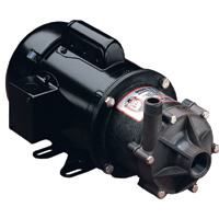 TE-6T-MD March® Magnetic Drive Polypropylene/Ryton® Pump with 1/2 HP, 230/460v, 3 Phase TEFC Motor