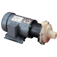 TE-7.5K-MD March ® Magnetic Drive Kynar ® Pump with 2 HP, 230/460v, 3 Phase TEFC Motor