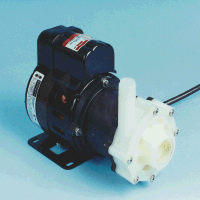 AC-5C-MD March ® Magnetic Drive Polypropylene Pump with 1/8 HP, 115v Air Cooled Motor