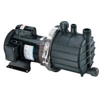 SP-TE-7K-MD March ® Magnetic Drive Kynar ® Pump with 1 HP, 115/230v, 1 Phase TEFC Motor (Self-Priming)