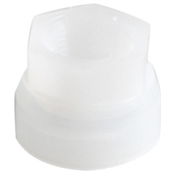 Plastic Spout with Metal Ring Adapter for Rieke Sr. Pail Covers (1-1/4