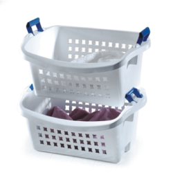 Rubbermaid ® Stack'N Sort Laundry Basket - 24.12