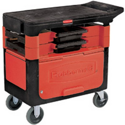 Rubbermaid® Trades Cart with Locking Cabinet