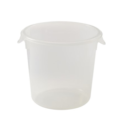 4 Qt. Semi-Clear Rubbermaid ® Container (Lid Sold Separately)