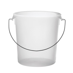 22 Qt. Semi-Clear Rubbermaid ® Container with Bail Handle (Lid Sold Separately)
