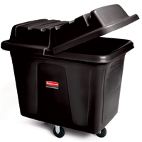 Rubbermaid® Black Cube Trucks & Lids
