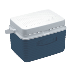 Rubbermaid ® 5 Quart Blue Victory™ Cooler - 10.5