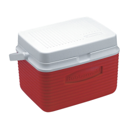 Rubbermaid ® 5 Quart Red Victory™ Cooler - 10.5