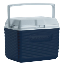 Rubbermaid ® 10 Quart Blue Victory™ Cooler - 10.5
