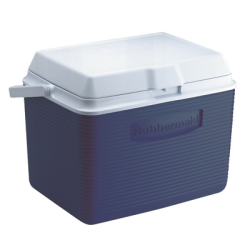 Rubbermaid ® 24 Quart Blue Victory™ Cooler - 12.4