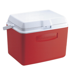 Rubbermaid ® 24 Quart Red Victory™ Cooler - 12.4