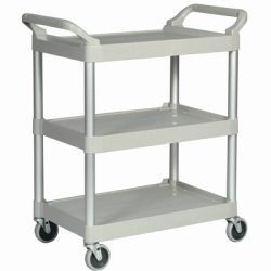 Platinum Utility Cart w/Auminum Uprights