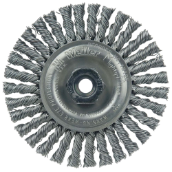 "4"" Dia. x M10x1.25 Arbor Hole Roughneck ® Steel Stringer Bead Wheel"