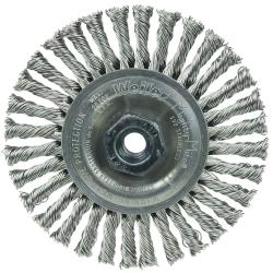 "4"" Dia. x M10x1.25 Arbor Hole Roughneck ® Stainless Steel Stringer Bead Wheel"