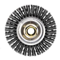 "4"" Dia. x 5/8""-11 Arbor Hole Roughneck ® Max Steel Stringer Bead Wheel"