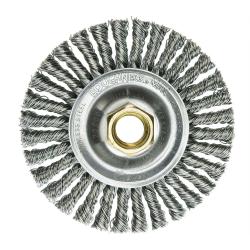 "4"" Dia. x 5/8""-11 Arbor Hole Roughneck ® Max Stainless Steel Stringer Bead Wheel"