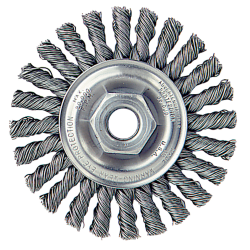 """4"""" Cable Twist Wheel with 5/8""""-11 Arbor Hole"""