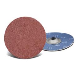 """3"""" Dia. X 80 Grit Quick Change Discs - Turn-On (Type S)"""