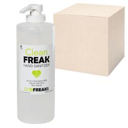 32 oz. Clean Freak Hand Sanitizer - Case of 25