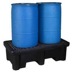 UltraTech Ultra Spill Containment Pallet P2-1500 2 Drum Model