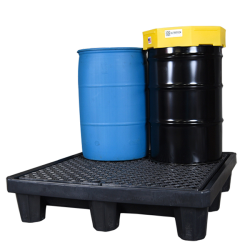 UltraTech Ultra Spill Containment Pallet P4-3000 4 Drum Model