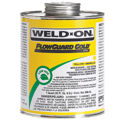 Pint Yellow IPS ® Weld-On ® FlowGuard Gold ® Cement