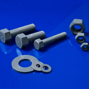PVC Hex Cap Unslotted Screws, Nuts & Washers
