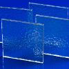".118"" x 12"" x 12"" Lexan™ Protect-A-Glaze 90318 Pebble Finish Polycarbonate Sheet"